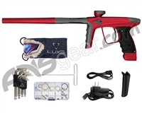 DLX Luxe Ice Paintball Gun - Dust Red/Dust Pewter