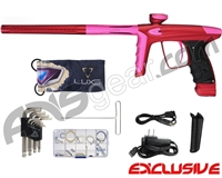 DLX Luxe Ice Paintball Gun - Dust Red/Dust Pink