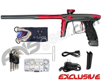 DLX Luxe Ice Paintball Gun w/ Freak XL Barrel - Pewter/Red