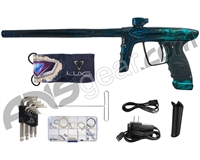 DLX Luxe Ice Paintball Gun - Galaxy Black/Teal