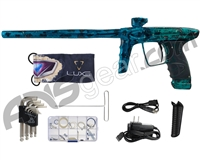 DLX Luxe Ice Paintball Gun - Galaxy Blue/Teal