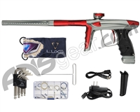 DLX Luxe Ice Paintball Gun - Grey/Dust Red