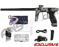 DLX Luxe Ice Paintball Gun - Laser Engraved Aloha - Black/Black