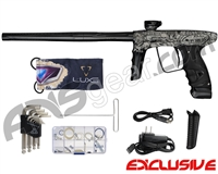 DLX Luxe Ice Paintball Gun - Laser Engraved All In - Black/Black