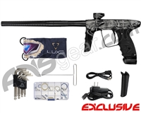 DLX Luxe Ice Paintball Gun - Laser Engraved Booty - Black/Black
