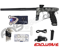 DLX Luxe Ice Paintball Gun - Laser Engraved High Noon - Black/Black