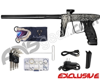 DLX Luxe Ice Paintball Gun - Laser Engraved The King - Black/Black