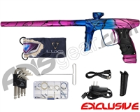DLX Luxe Ice Paintball Gun - Pink w/ Blue/Pink Fade