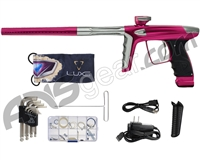 DLX Luxe Ice Paintball Gun - Pink/Grey