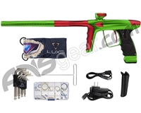 DLX Luxe Ice Paintball Gun - Slime/Dust Red