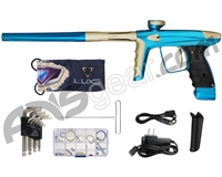 DLX Luxe Ice Paintball Gun - Teal/Dust Gold