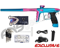 DLX Luxe Ice Paintball Gun - Teal/Dust Pink