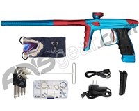 DLX Luxe Ice Paintball Gun - Teal/Dust Red