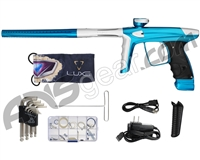 DLX Luxe Ice Paintball Gun - Teal/Dust White