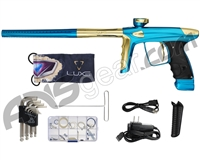DLX Luxe Ice Paintball Gun - Teal/Gold