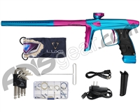 DLX Luxe Ice Paintball Gun - Teal/Pink