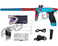 DLX Luxe Ice Paintball Gun - Teal/Red