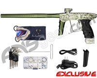 DLX Luxe Ice Paintball Gun w/ FREE Viking Laser Engraving - Dust Olive/Dust Olive