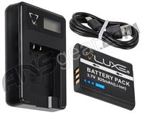 DLX Luxe X Battery & Charger Combo w/ Screen