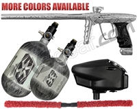 DLX Luxe X Competition Paintball Gun Package Kit