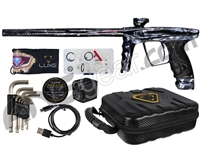 DLX Luxe X Paintball Gun - Acid Wash Dark Marble