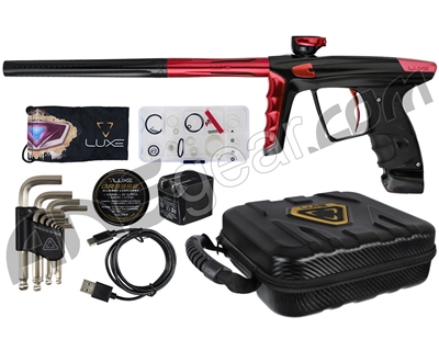 DLX Luxe X Paintball Gun - Black/Red