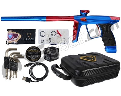 DLX Luxe X Paintball Gun - Blue/Red