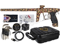 DLX Luxe X Paintball Gun - Woodland Camo