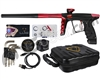 DLX Luxe X Paintball Gun - Dust Black/Red