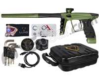 DLX Luxe X Paintball Gun - Dust Olive/Black
