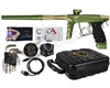 DLX Luxe X Paintball Gun - Dust Olive/Gold