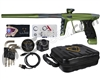 DLX Luxe X Paintball Gun - Dust Olive/Pewter