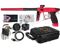 DLX Luxe X Paintball Gun - Dust Red/Black