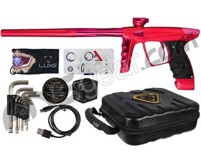 DLX Luxe X Paintball Gun - Dust Red/Pink