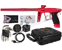 DLX Luxe X Paintball Gun - Dust Red/Red