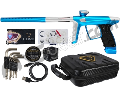 DLX Luxe X Paintball Gun - Dust Teal/Dust White