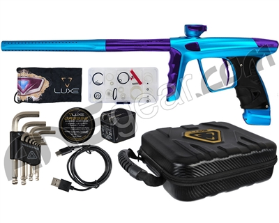 DLX Luxe X Paintball Gun - Dust Teal/Purple