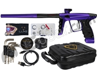 DLX Luxe X Paintball Gun - Dust Purple/Black