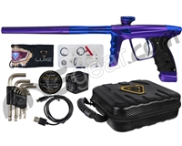 DLX Luxe X Paintball Gun - Dust Purple/Blue