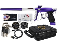 DLX Luxe X Paintball Gun - Dust Purple/Dust White