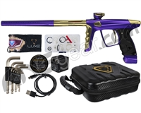 DLX Luxe X Paintball Gun - Dust Purple/Gold