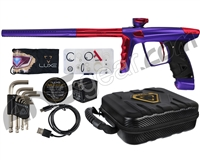 DLX Luxe X Paintball Gun - Dust Purple/Red