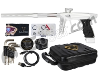 DLX Luxe X Paintball Gun - Dust White/Dust White