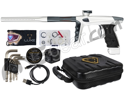 DLX Luxe X Paintball Gun - Dust White/Pewter