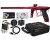 DLX Luxe X Paintball Gun - Gloss Red Marble Acid Wash