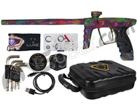 DLX Luxe X Paintball Gun - Matte Hypno Acid Wash