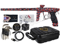DLX Luxe X Paintball Gun - Midnight Camo Red