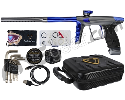 DLX Luxe X Paintball Gun - Pewter/Blue