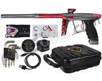 DLX Luxe X Paintball Gun - Pewter/Red
