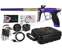 DLX Luxe X Paintball Gun - Purple/Gold
